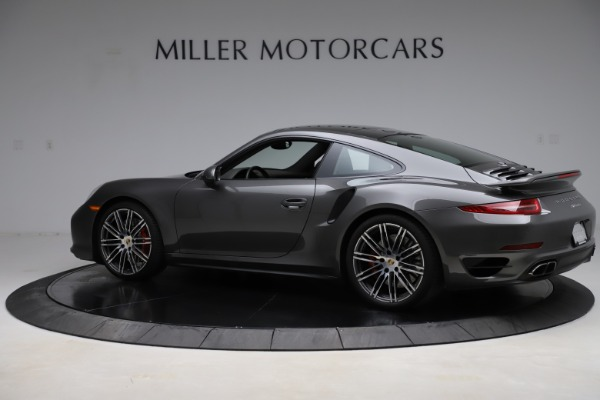 Used 2015 Porsche 911 Turbo for sale $109,900 at Alfa Romeo of Greenwich in Greenwich CT 06830 4