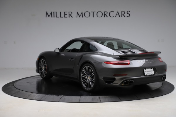 Used 2015 Porsche 911 Turbo for sale $109,900 at Alfa Romeo of Greenwich in Greenwich CT 06830 5