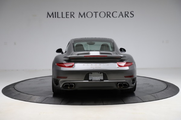 Used 2015 Porsche 911 Turbo for sale $109,900 at Alfa Romeo of Greenwich in Greenwich CT 06830 6