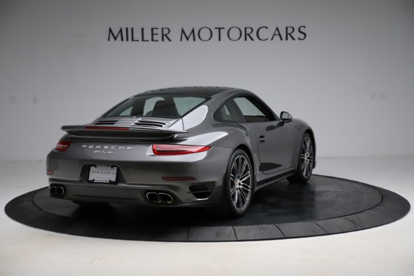Used 2015 Porsche 911 Turbo for sale $109,900 at Alfa Romeo of Greenwich in Greenwich CT 06830 7