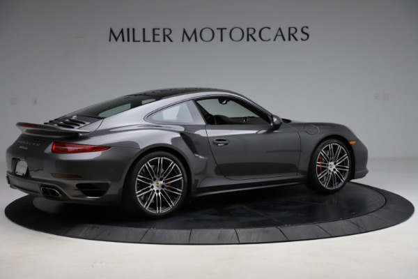 Used 2015 Porsche 911 Turbo for sale $109,900 at Alfa Romeo of Greenwich in Greenwich CT 06830 8
