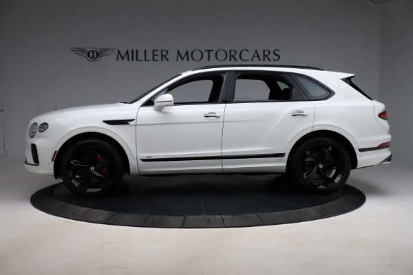 New 2021 Bentley Bentayga V8 for sale Call for price at Alfa Romeo of Greenwich in Greenwich CT 06830 3