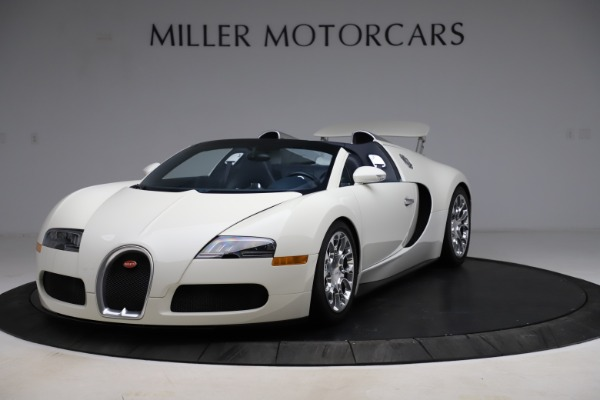 Used 2010 Bugatti Veyron 16.4 Grand Sport for sale Call for price at Alfa Romeo of Greenwich in Greenwich CT 06830 2