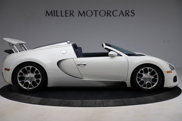 Used 2010 Bugatti Veyron 16.4 Grand Sport for sale Call for price at Alfa Romeo of Greenwich in Greenwich CT 06830 9