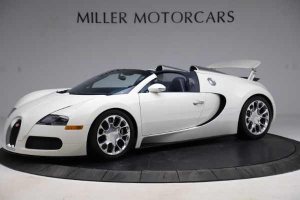 Used 2010 Bugatti Veyron 16.4 Grand Sport for sale Call for price at Alfa Romeo of Greenwich in Greenwich CT 06830 1