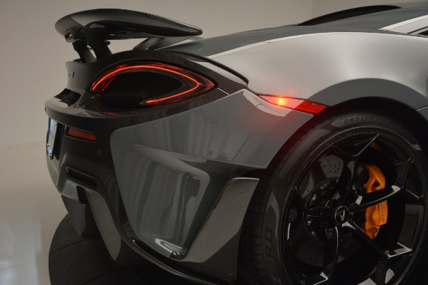 Used 2019 McLaren 600LT Luxury for sale Sold at Alfa Romeo of Greenwich in Greenwich CT 06830 27