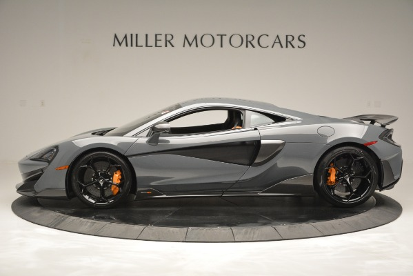 Used 2019 McLaren 600LT Luxury for sale Sold at Alfa Romeo of Greenwich in Greenwich CT 06830 3