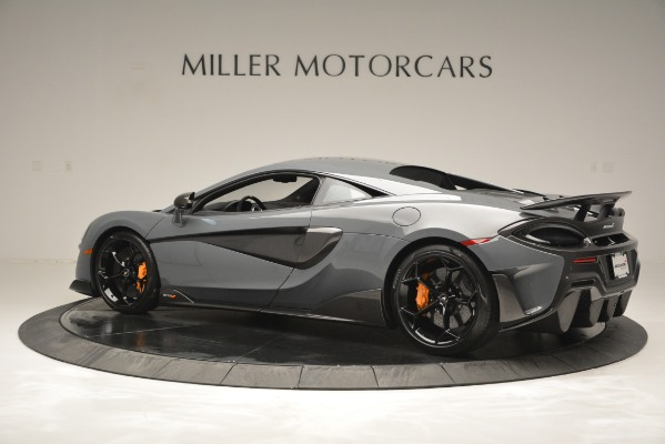 Used 2019 McLaren 600LT Luxury for sale Sold at Alfa Romeo of Greenwich in Greenwich CT 06830 4