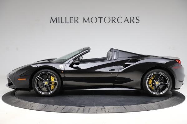 Used 2017 Ferrari 488 Spider for sale $284,900 at Alfa Romeo of Greenwich in Greenwich CT 06830 3