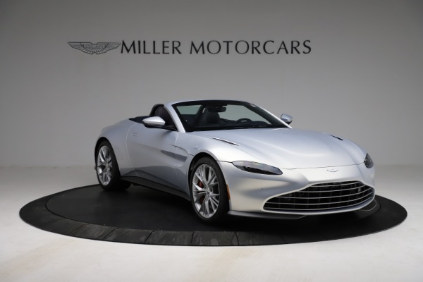 New 2021 Aston Martin Vantage Roadster for sale $184,286 at Alfa Romeo of Greenwich in Greenwich CT 06830 10