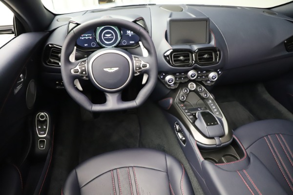 New 2021 Aston Martin Vantage Roadster for sale $184,286 at Alfa Romeo of Greenwich in Greenwich CT 06830 13