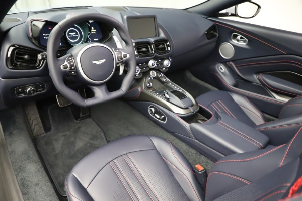 New 2021 Aston Martin Vantage Roadster for sale $184,286 at Alfa Romeo of Greenwich in Greenwich CT 06830 14