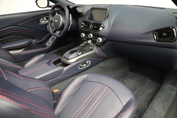 New 2021 Aston Martin Vantage Roadster for sale $184,286 at Alfa Romeo of Greenwich in Greenwich CT 06830 18