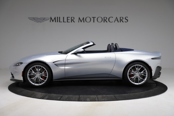 New 2021 Aston Martin Vantage Roadster for sale $184,286 at Alfa Romeo of Greenwich in Greenwich CT 06830 2