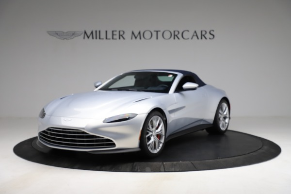 New 2021 Aston Martin Vantage Roadster for sale $184,286 at Alfa Romeo of Greenwich in Greenwich CT 06830 21