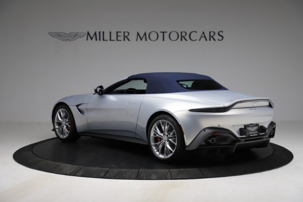 New 2021 Aston Martin Vantage Roadster for sale $184,286 at Alfa Romeo of Greenwich in Greenwich CT 06830 23