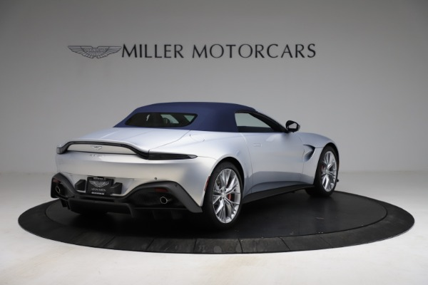 New 2021 Aston Martin Vantage Roadster for sale $184,286 at Alfa Romeo of Greenwich in Greenwich CT 06830 24