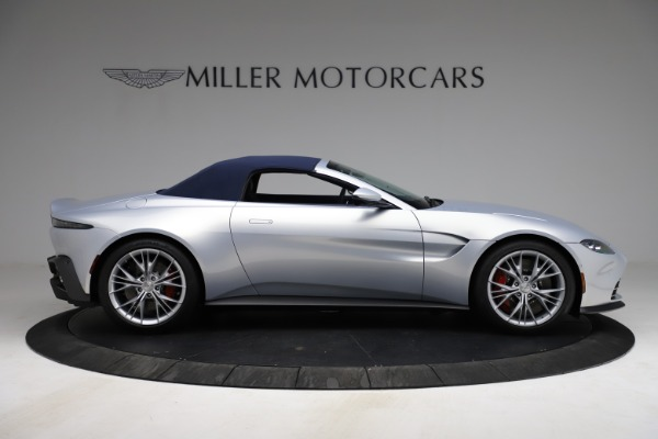 New 2021 Aston Martin Vantage Roadster for sale $184,286 at Alfa Romeo of Greenwich in Greenwich CT 06830 25