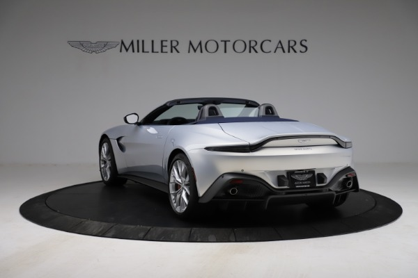 New 2021 Aston Martin Vantage Roadster for sale $184,286 at Alfa Romeo of Greenwich in Greenwich CT 06830 4