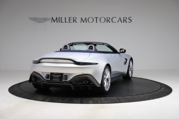 New 2021 Aston Martin Vantage Roadster for sale $184,286 at Alfa Romeo of Greenwich in Greenwich CT 06830 6