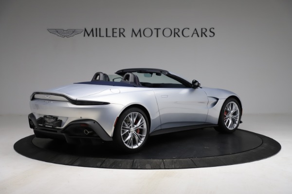New 2021 Aston Martin Vantage Roadster for sale $184,286 at Alfa Romeo of Greenwich in Greenwich CT 06830 7