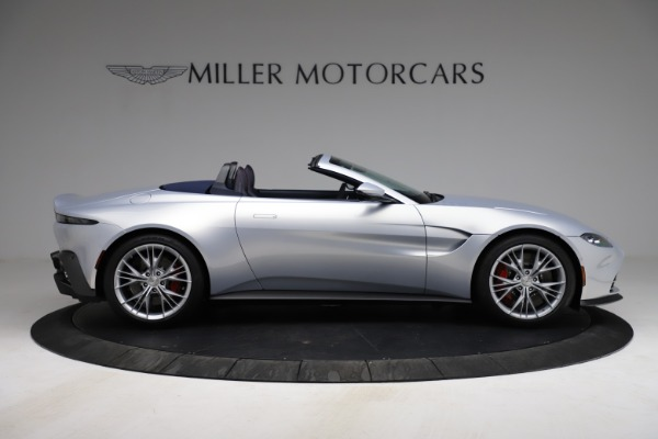New 2021 Aston Martin Vantage Roadster for sale $184,286 at Alfa Romeo of Greenwich in Greenwich CT 06830 8