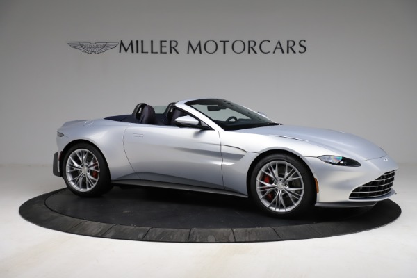 New 2021 Aston Martin Vantage Roadster for sale $184,286 at Alfa Romeo of Greenwich in Greenwich CT 06830 9