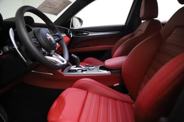 New 2021 Alfa Romeo Stelvio Ti Sport Q4 for sale Sold at Alfa Romeo of Greenwich in Greenwich CT 06830 14