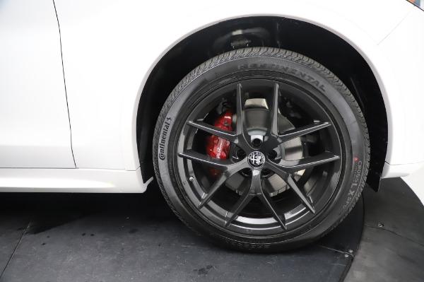 New 2021 Alfa Romeo Stelvio Ti Sport Q4 for sale Sold at Alfa Romeo of Greenwich in Greenwich CT 06830 28