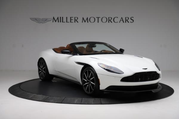 New 2021 Aston Martin DB11 Volante for sale $272,686 at Alfa Romeo of Greenwich in Greenwich CT 06830 10