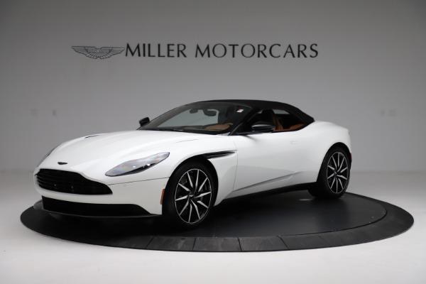 New 2021 Aston Martin DB11 Volante for sale $272,686 at Alfa Romeo of Greenwich in Greenwich CT 06830 13