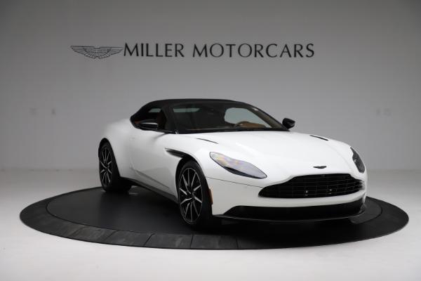 New 2021 Aston Martin DB11 Volante for sale $272,686 at Alfa Romeo of Greenwich in Greenwich CT 06830 17