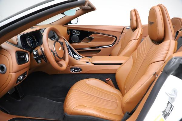 New 2021 Aston Martin DB11 Volante for sale $272,686 at Alfa Romeo of Greenwich in Greenwich CT 06830 18