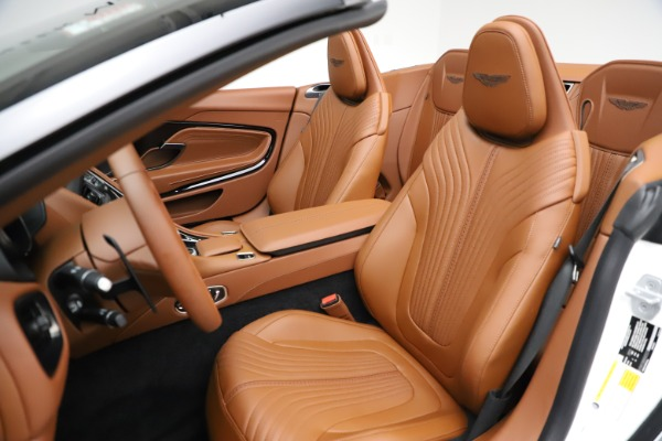 New 2021 Aston Martin DB11 Volante for sale $272,686 at Alfa Romeo of Greenwich in Greenwich CT 06830 20