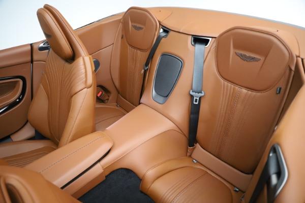New 2021 Aston Martin DB11 Volante for sale $272,686 at Alfa Romeo of Greenwich in Greenwich CT 06830 21