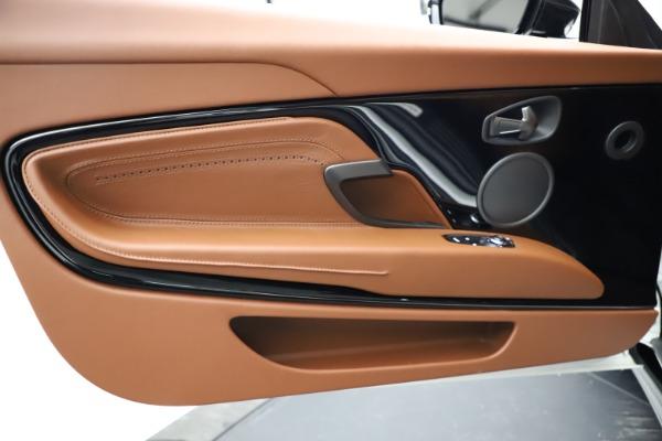 New 2021 Aston Martin DB11 Volante for sale $272,686 at Alfa Romeo of Greenwich in Greenwich CT 06830 22