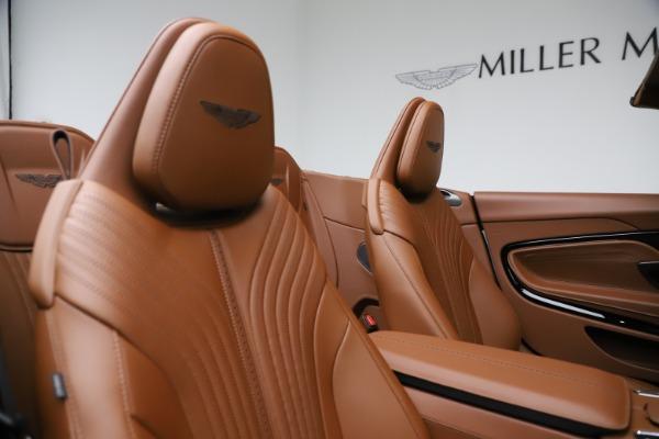 New 2021 Aston Martin DB11 Volante for sale $272,686 at Alfa Romeo of Greenwich in Greenwich CT 06830 24