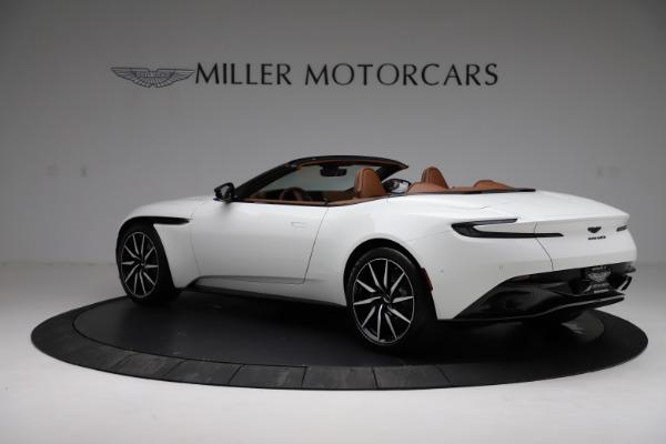 New 2021 Aston Martin DB11 Volante for sale $272,686 at Alfa Romeo of Greenwich in Greenwich CT 06830 3