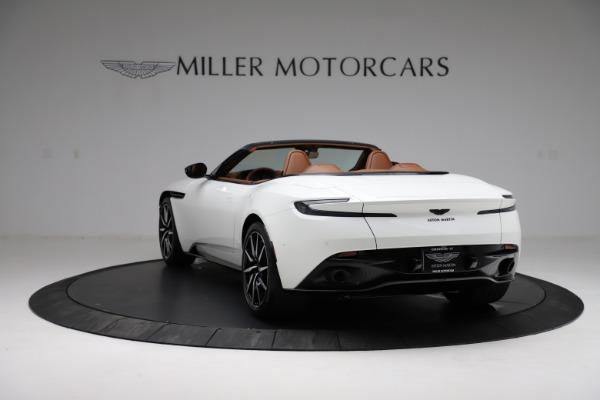 New 2021 Aston Martin DB11 Volante for sale $272,686 at Alfa Romeo of Greenwich in Greenwich CT 06830 4
