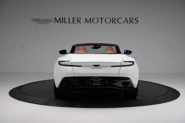 New 2021 Aston Martin DB11 Volante for sale $272,686 at Alfa Romeo of Greenwich in Greenwich CT 06830 5