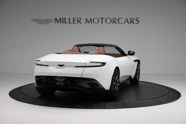 New 2021 Aston Martin DB11 Volante for sale $272,686 at Alfa Romeo of Greenwich in Greenwich CT 06830 6