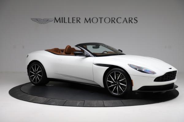 New 2021 Aston Martin DB11 Volante for sale $272,686 at Alfa Romeo of Greenwich in Greenwich CT 06830 9