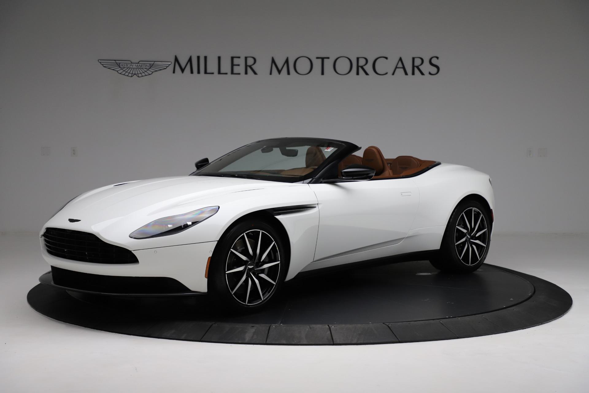 New 2021 Aston Martin DB11 Volante for sale $272,686 at Alfa Romeo of Greenwich in Greenwich CT 06830 1