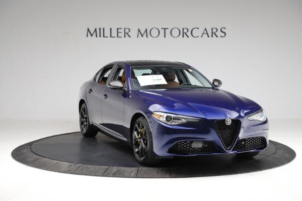 New 2021 Alfa Romeo Giulia Ti Q4 for sale $51,350 at Alfa Romeo of Greenwich in Greenwich CT 06830 11