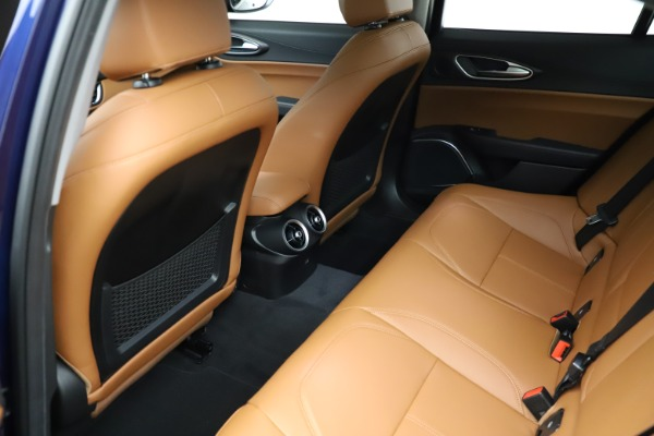 New 2021 Alfa Romeo Giulia Ti Q4 for sale $51,350 at Alfa Romeo of Greenwich in Greenwich CT 06830 19