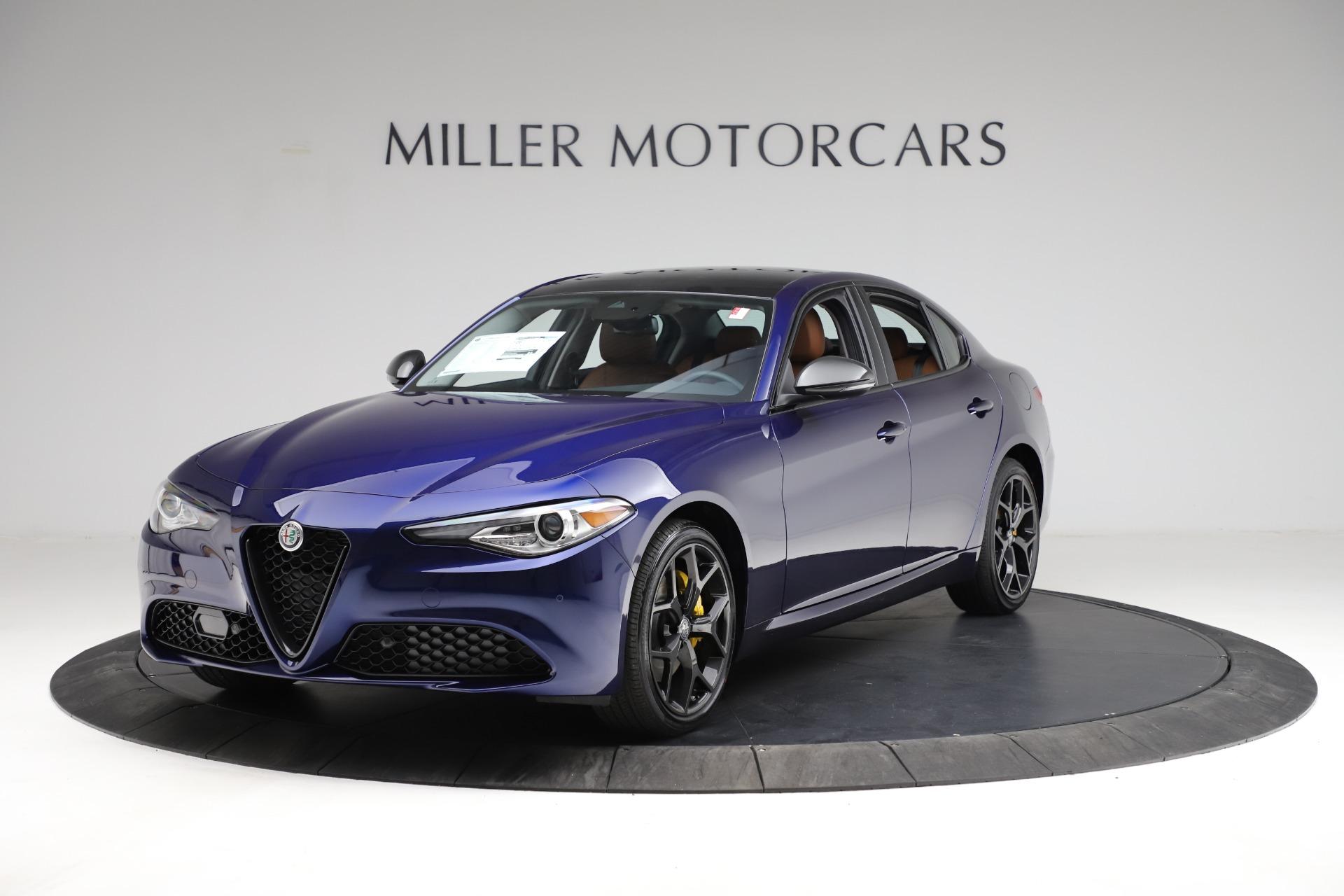 New 2021 Alfa Romeo Giulia Ti Q4 for sale $51,350 at Alfa Romeo of Greenwich in Greenwich CT 06830 1