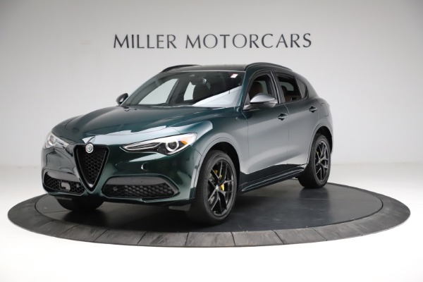 New 2021 Alfa Romeo Stelvio Ti Sport Q4 for sale $56,600 at Alfa Romeo of Greenwich in Greenwich CT 06830 2