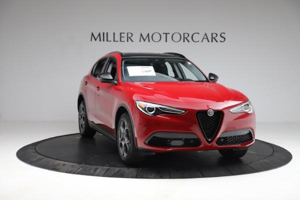 New 2021 Alfa Romeo Stelvio Q4 for sale $50,535 at Alfa Romeo of Greenwich in Greenwich CT 06830 12