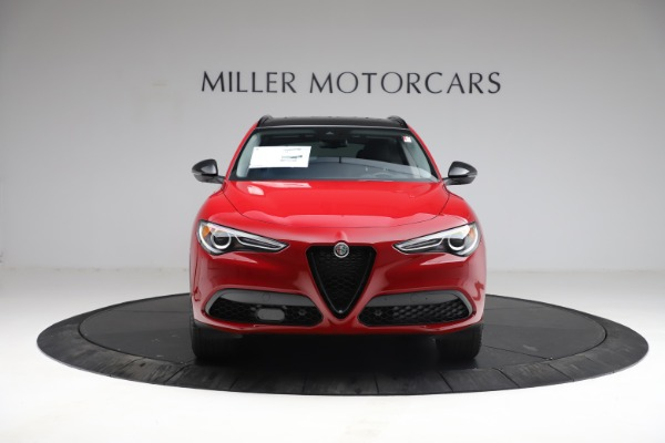 New 2021 Alfa Romeo Stelvio Q4 for sale $50,535 at Alfa Romeo of Greenwich in Greenwich CT 06830 13