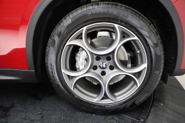 New 2021 Alfa Romeo Stelvio Q4 for sale $50,535 at Alfa Romeo of Greenwich in Greenwich CT 06830 28